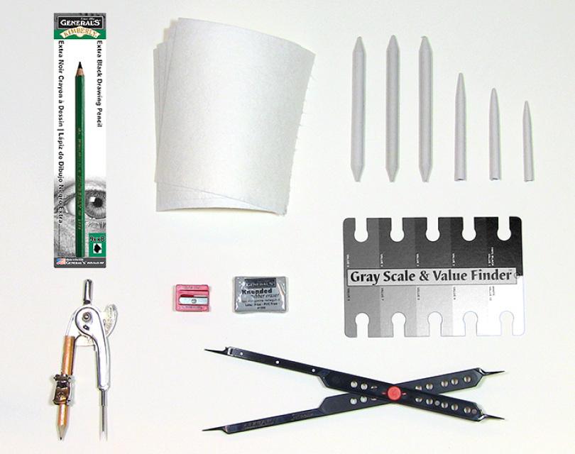 Bundle and Save! Drawing Kit, Bonus Pack and Book
